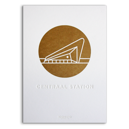 Artprint Centraal Station Icon010