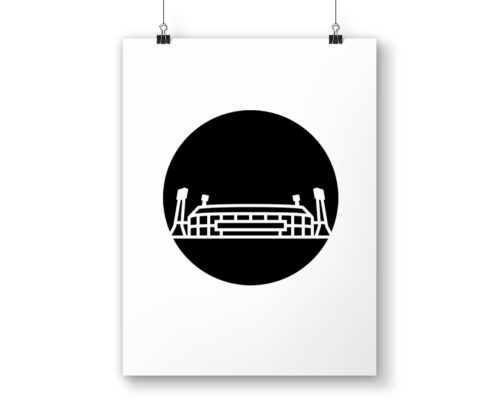Poster De Kuip ICON010