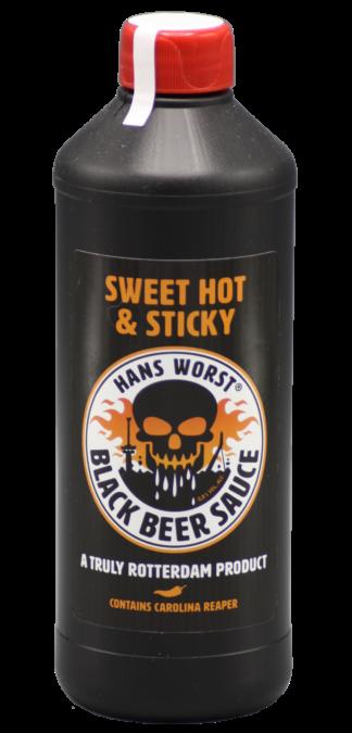 Black Beer Sauce van Hans worst
